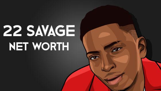 22 Savage Net Worth 2019