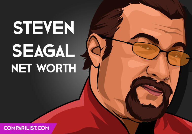 Steven Seagal Sources of Income, Salary and More