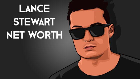 Lance Stewart net worth