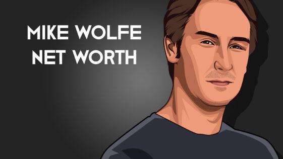 Mike Wolfe net worth