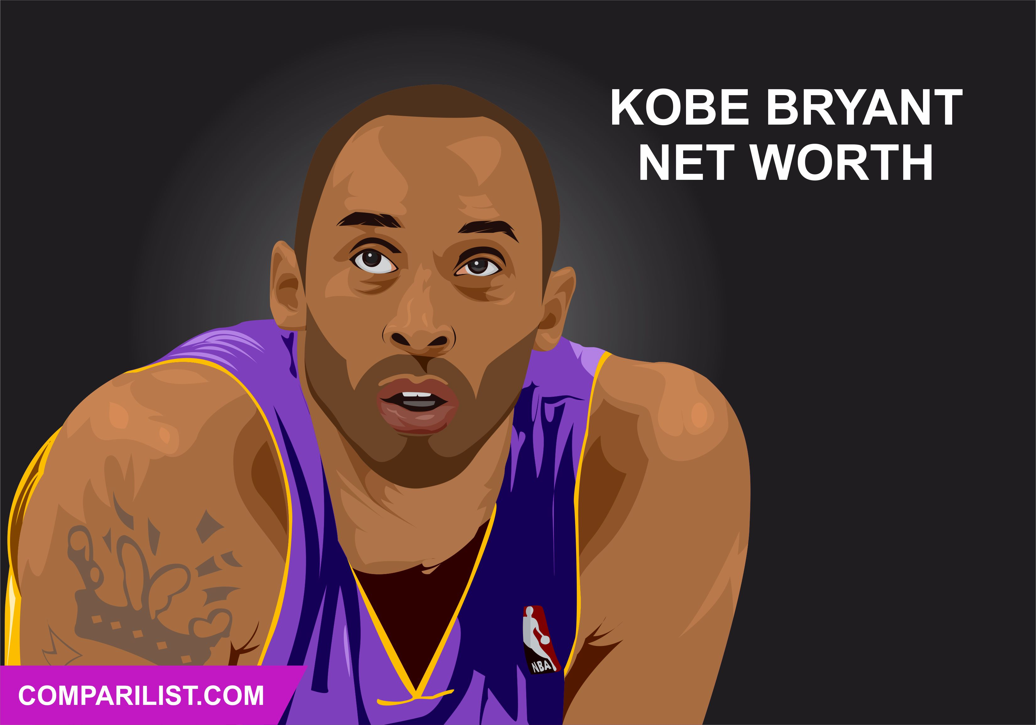 Kobe bryant had an illustrious career but faced troubles off the court
